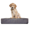 High Quality New Design All Weather OEM Eco-Friendly Round Custom Wholesale Memory Foam Dog Bed