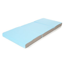 CPS 3D Light Blue Comfort Baby Folding Mattress