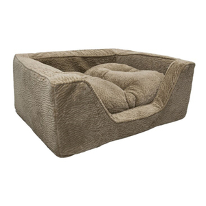 Hot Sale Fancy Cheap Custom Size Orthopedic Memory Foam Dog Bed
