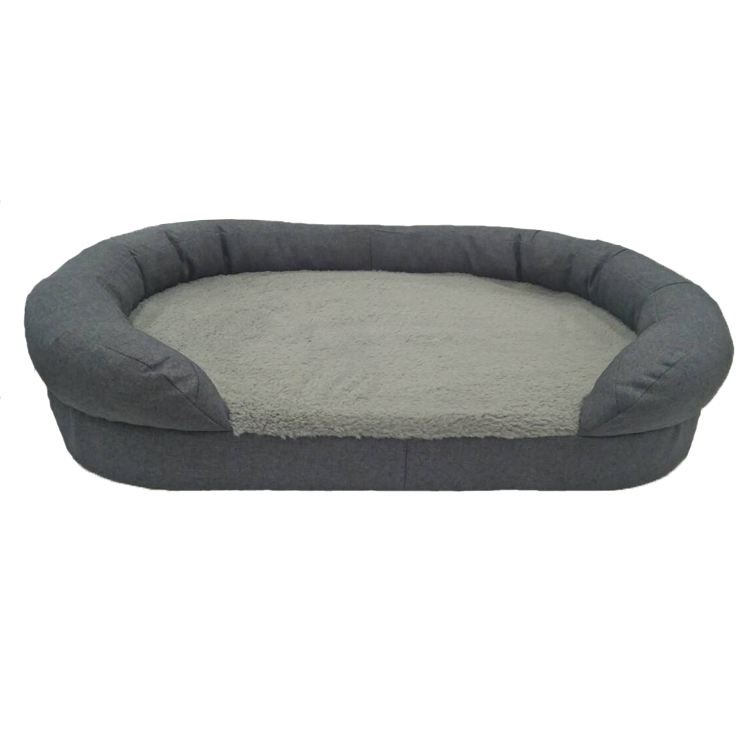 CPS Wholesale High Quality New Design Soft Hot Selling Memory Foam Cushion Dog Bed with Cover