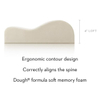 Healthy Memory Foam Head Support Contour Pillow