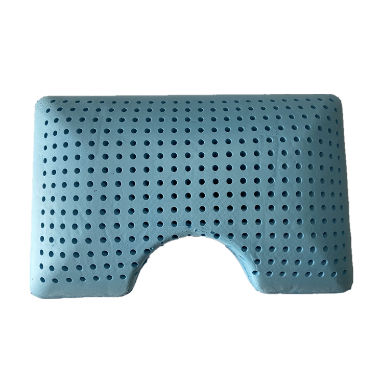 New Style Gel Pillow Blue Memory Foam Cooling Gel Pillow Cooling Gel Memory Foam Pillow
