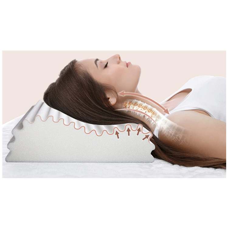 Soft Factory Wholesale New Design Supportive Contour Memory Foam Pillow