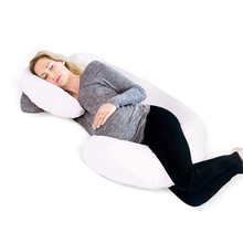 Healthy Polyester Memory Foam Pregnancy Nursing Pillow