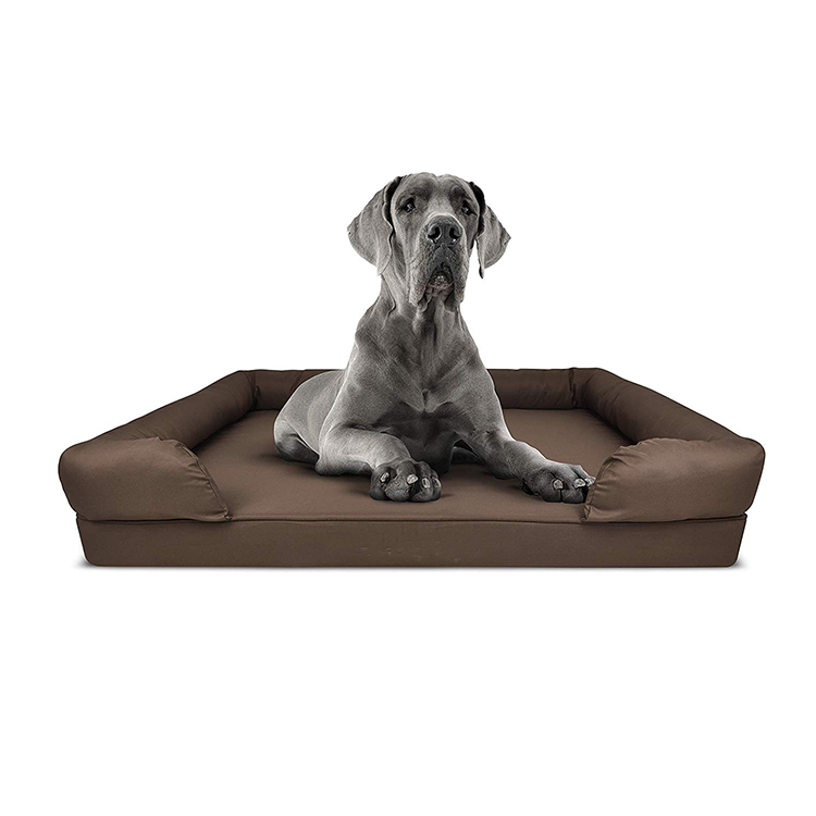 CPS Durable Factory Memory Foam Orthopedic Customized Material Dog Bed Large