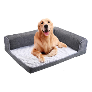 Luxury Custom Wholesale Warmly Faux Cheap Price China Fur Pet Dog Bed
