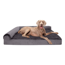 Raised Luxury Crate Chewproof Durable Manufacturer House Long Plush Snuggle Orthopedic Bed Dog