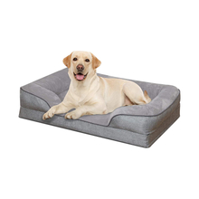 Hot Chew Resistant Raised Orthopedic Foam Sale Luxury Dog Pet Beds