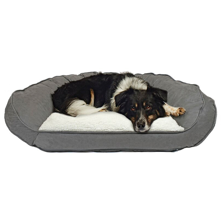 CPS Warm Rectangle Waterproof Memory Foam Sofa Pet Bed
