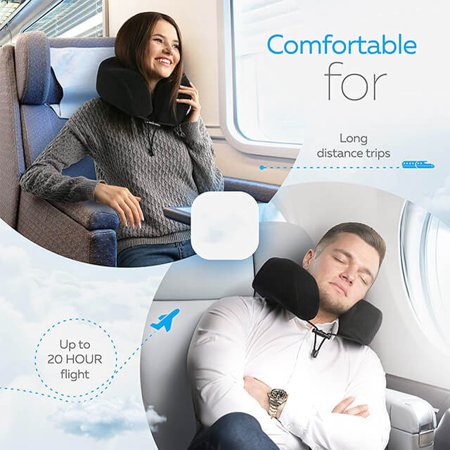 Healthy China Travel Neck Pillow Memory Foam Sleeping Pillow for Neck