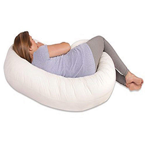 Healthy Polyester Memory Foam Full Body Pregnancy Sleeping Pillow