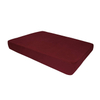 Eco-Friendly Square New Design Colorful Cheap Wear-Resistant Canvas Acrylic Memory Foam Dog Bed
