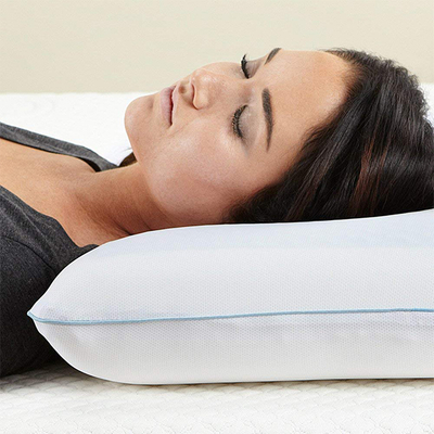 Healthy China Pillow Cool Gel Memory Foam Neck Support Bed Pillow