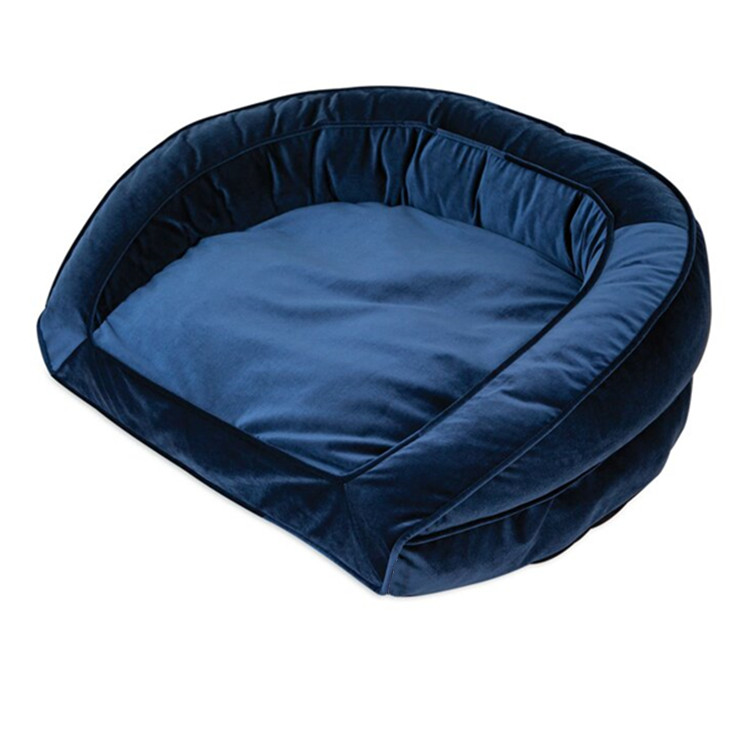 Popular Large Orthopedic Washable Luxury Suppliers Dog Bed