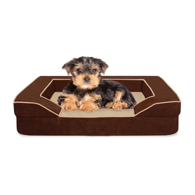 CPS Pet Accessories Best Seller Memory Foam Dog Bed Wholesale Pet Shop Products with Cage