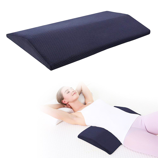 Healthy Memory Foam Lumbar Back Pillow